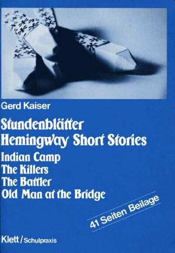 Stundenblätter Hemingway 'Short Stories'