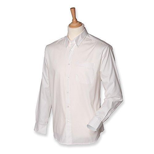 Henbury - Chemise à manches longues - homme Blanc