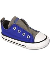Converse - Zapatillas de algodón para niño Azul azul