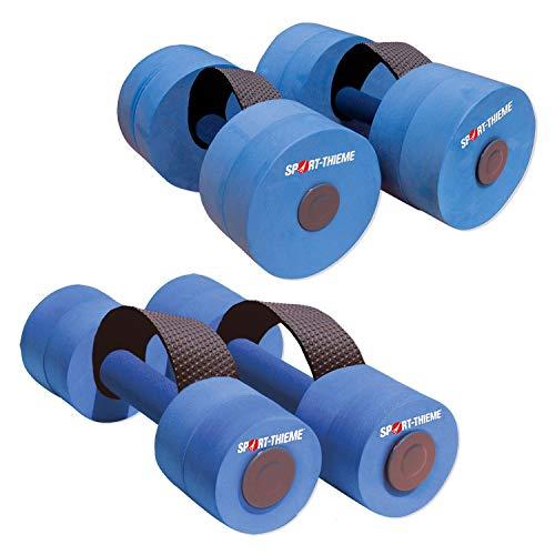 Sport-Thieme® Aqua-Jogging Hanteln mit Schlaufengriff Paar, Senior L: ca. 35 cm, ø 15 cm