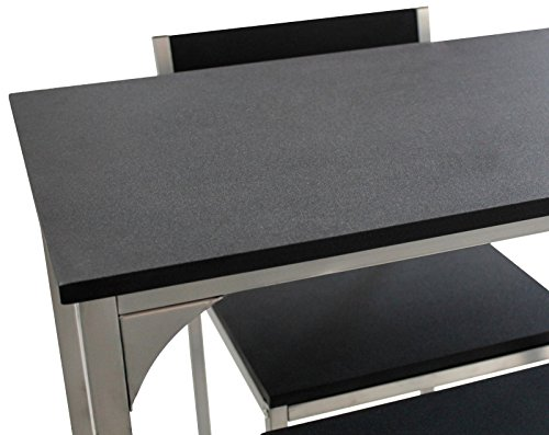 Yelloo set tavolo e sgabelli bar mod udine arredo salotto