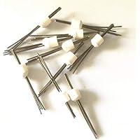 Portal Cool 10pcs Laboratorio dental Amann Girrbach Pin para bandejas de cocción redondas en forma de panal