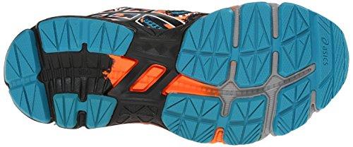 Asics Gel-Noosa Tri 10 GS Synthétique Chaussure de Course Enamel Blue-Black-Orange