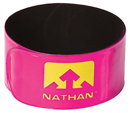 Nathan Reflex Snap Band (2Pack), Hi-Viz Pink Hi-Viz Orange -