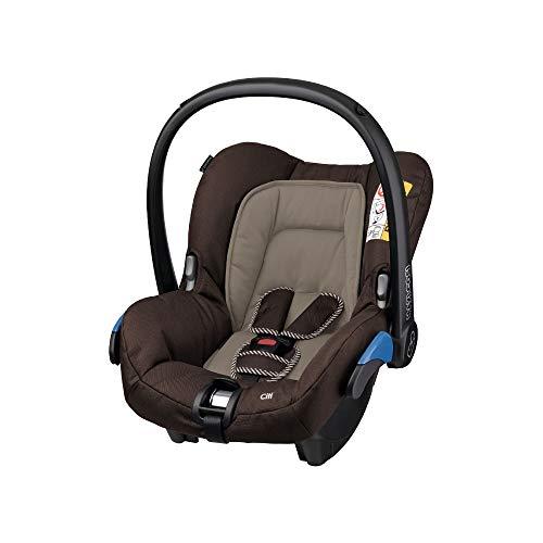 Maxi-Cosi Citi Babyschale, federleichter Baby-Autositz Gruppe 0+ (0-13 kg), nutzbar ab der Geburt bis ca. 12 Monate, Earth Brown (braun) (Schieben Einkaufswagen Für Kinder)