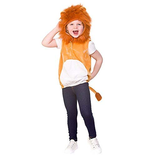 Wicked Costumes Child/Kids Unisex Lion Animal Tabard Fancy Dress Costume - One Size 3-5 Years