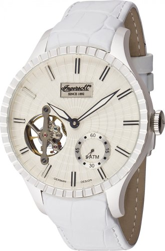 Ingersoll Minneapolis IN7219WH Orologio da donna sportivo Meccanismo a vista