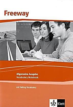 Klett Freeway Allgemeine Ausgabe / Vocabulary Notebook mit Talking Vocabulary (MP3-Download): Englisch für berufliche Schulen