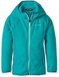 VAUDE Niños chaqueta Matilda Chaqueta Polar, primavera/verano, infantil, color Turquesa - Reef, tamaño 3 años (98 cm)