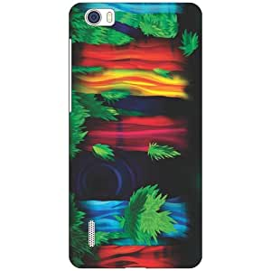 Huawei Honor 6 multi colored phone cover