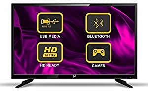 Noble Skiodo 81 cm (32 inches) 32CN32P01 HD Ready LED TV (Black)