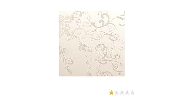 55f9f8164fab60 Rouleau adhésif décoratif 45cm x 2m fleurs argents Bonita Décoration ...