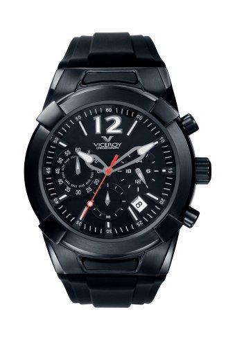 Viceroy 43206155 - Orologio da polso da uomo, cinturino in plastica colore nero