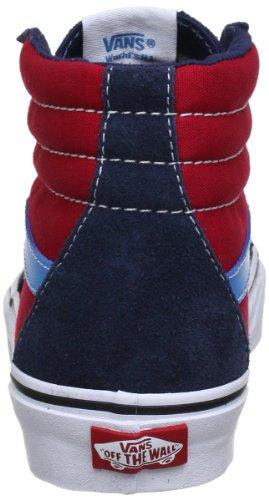 Vans Sk8-Hi, Sneakers Alti Unisex Adulto Blu (dress blues/chi)