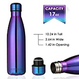 king do way Insulated Stainless Steel Water Vacuum Bottle Double-walled for Outdoor Sports