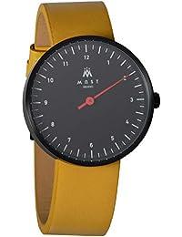 MAST MILANO BK101BK08-L-UNO - Reloj de hombre monoaguja ultra slim