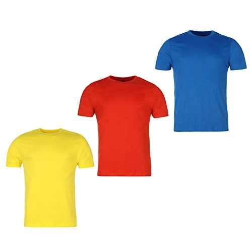 b5e56b13800 Donnay - Camiseta - para Hombre Blue Red Yellow XXX-Large
