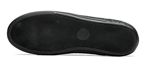OPP Classic Scarpe da Uomo Vera Pelle Scarpe Blue-3