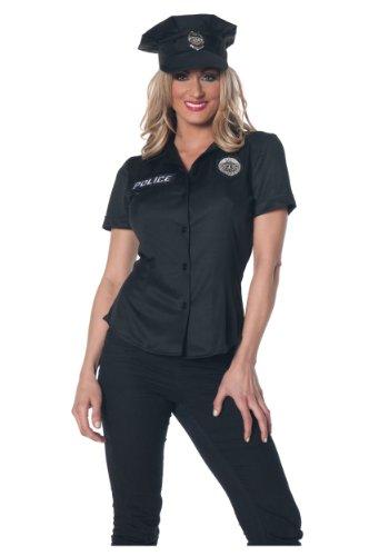 Women's Police Shirt Fancy dress costume (Police Womens Shirt Kostüme)