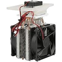 Equipo de enfriamiento del refrigerador de DIY del semiconductor electrónico de la refrigeración de DC usado en la disipación de calor del refrigerador 12V 70W