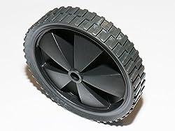 Ersatzrad Rasenmäherrad Rad Ersatzrolle Geräterolle 150mm x 30mm x 12mm, 25kG Tragfähigkeit