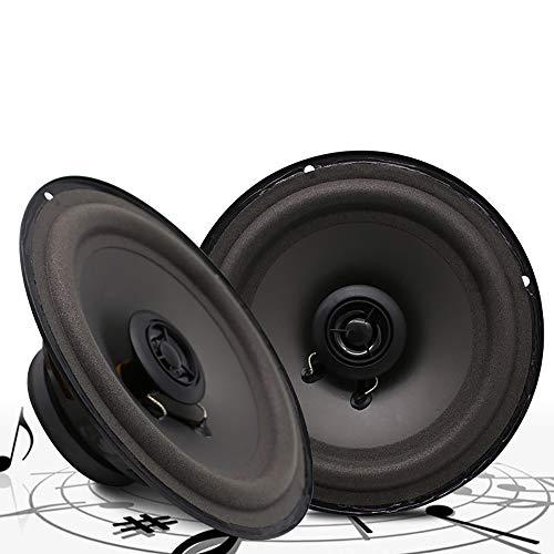 LIDAUTO 2 stücke LaBo 2 Weg Auto Koaxial HiFi Lautsprecher Fahrzeug Tür Auto Audio Musik Stereo Volle Palette Frequenz Lautsprecher 6inch 100W 100w Dual Cone