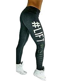 Auxo 3 Couleurs Femme Casual Sexy Serré Sports Yoga Joggings Imprimé Jambières Pantalons Leggings