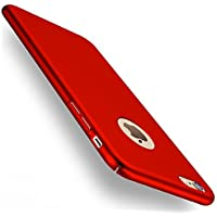 Funda iPhone 6/6s, Joyguard iPhone 6/6s Carcasa [Ultra-Delgado] [Ligera] Anti-rasguños Estuche para Case iPhone 6/6s - 4.7pulgada - Rojo