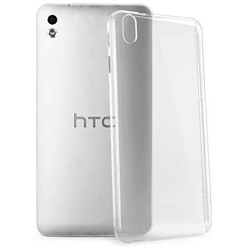 Gioiabazar Crystal Clear Transparent Hard Back Case Cover for HTC Desire 816G Dual Sim