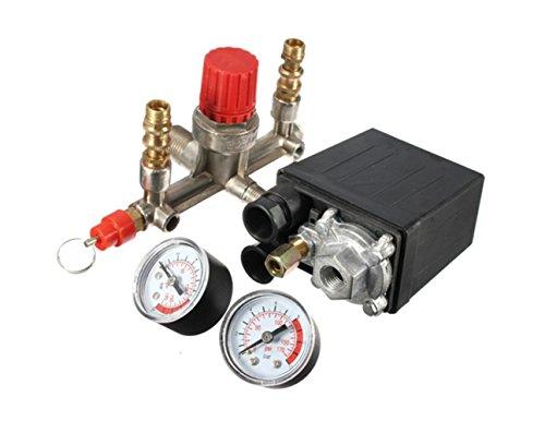 Compresor de aire duradero - Bomba de presostato con válvula de control...