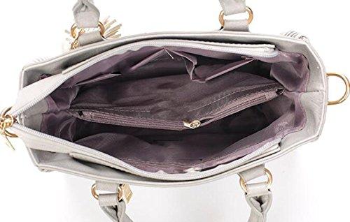 Borse Fashion Fashion Europe E La Borsa Del Sacchetto Del Messaggero Del Sacchetto Di Spalla Del Modello Degli Stati Uniti Grey
