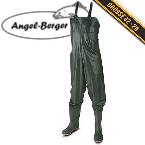 Angel-Berger Wathose Watstiefel Watbekleidung PVC Wathose (42)