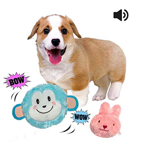 Hundespielzeug Ball Elektronische interaktives Spielzeug mit Sound und Vibration,springt für Hündchen und - Hundespielzeug Vibration