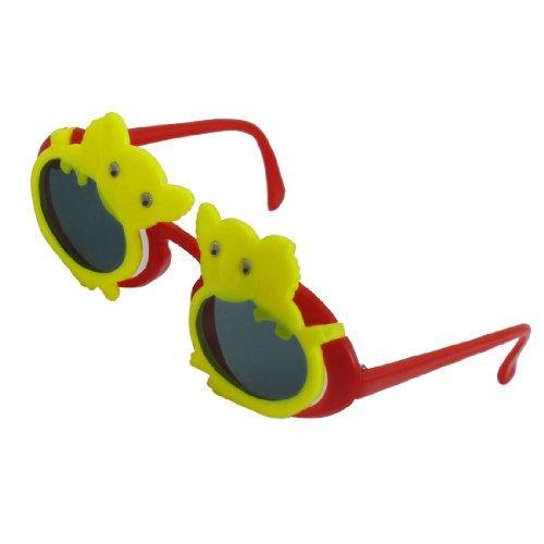 DealMux Koala Design Vollrand purpurnen Arme 2 Schichten Kunststoff Sonnenbrillen für Kinder