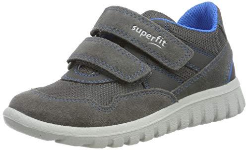 Superfit Baby Jungen SPORT7 Mini' Sneaker, Grau (Grau/Blau 20), 34 EU