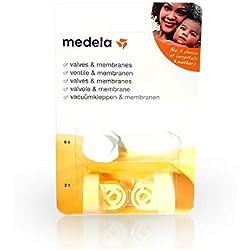 Medela - Pièces de Rechange pour Tire-Lait - Kit 2 Valves et 6 Membranes
