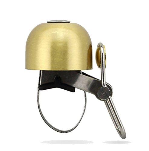 RUXI Fahrrad-Klingel Vintage Kupfer Glocke Reitausrüstungvintage Kupfer Glocke Reitausrüstung,Brass