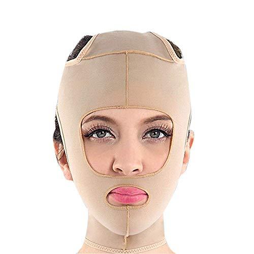 CY Facelifting-Maske, Lifting Der Haut Zur Faltenbildung. Doppelkinn-Gesichtsverband Zur Verbesserung Der Hauterschlaffung (Size : XL)