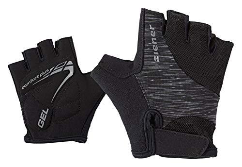 Ziener Kinder CANIZO junior Bike Glove Fahrrad-handschuh, schwarz (black melange), (Kind Schwarz Handschuhe)