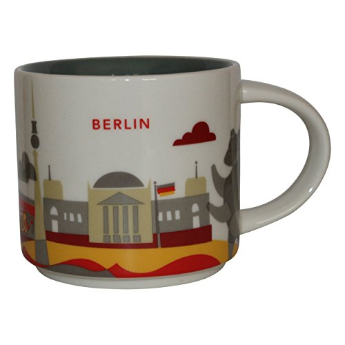 Starbucks City Mug You Are Here Collection Berlin Kaffeetasse Coffee Cup