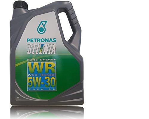 OLIO MOTORE PETRONAS SELENIA WR 5W30 WIDE RANGE PURE ENERGY, LT.5