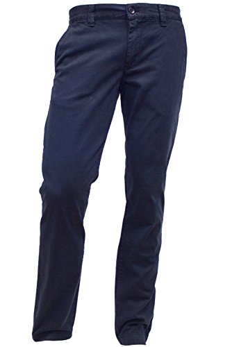 ALBERTO Garment Dyed Pima Cotton Chino Modell Lou in 38/36 (Pima-cotton-hose)