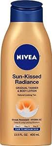 Nivea Sun-Kissed Radiance Gradual Tanner & Body Lotion, Fair to Medium Skin