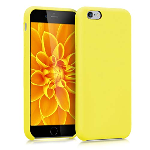 kwmobile Apple iPhone 6 / 6S Hülle - Handyhülle für Apple iPhone 6 / 6S - Handy Case in Neon Gelb