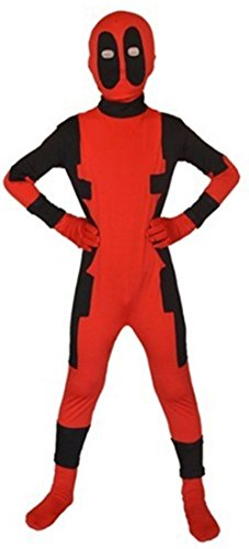 Sheface Kids Deadpool Halloween Costumes (Large, P06) (Halloween-kostüme Deadpool)