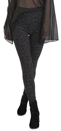 BeLady Damen Leggings Knöchellang aus Baumwolle Abnehmen Blickdichte Leggins Viele Muster (Klaudia, S - 36) (Baumwolle Lycra Leggings)