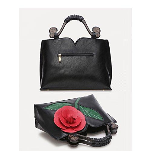 Taschen Handtaschen Damen Einfach Henkel Tasche Elegant wasserdichte Handtasche Kunstleder Schultertasche Weiß