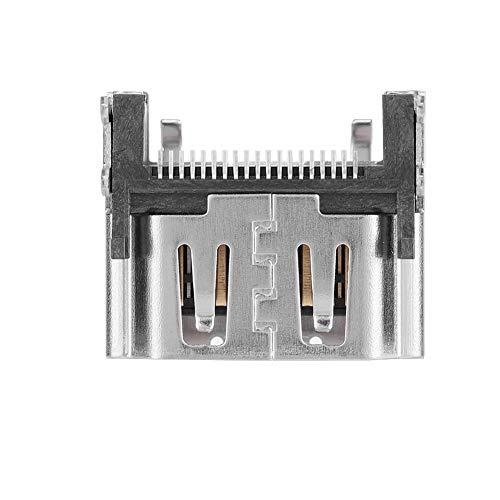 Super-hd-sockel (Bewinner HDMI-Port-Socket-Schnittstelle für PS4 Pro-2000, Ersatzteil für PS4, Ersetzen des beschädigten PS4-HDMI-Ports, präziser Design-Stabiler Ausgang)