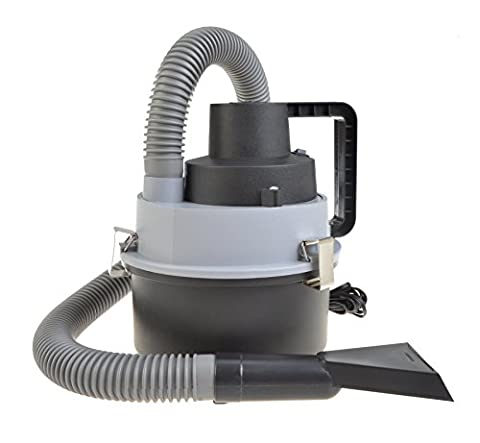 Wet and Dry Car Vacuum Cleaner Hoover for Cars, Vans and Trucks Portable Powerful Compact 12 Volt