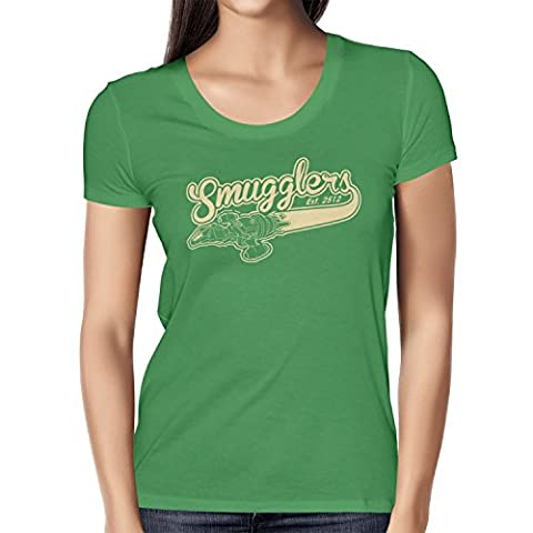 TEXLAB - Smugglers - Damen T-Shirt, Größe M, grün